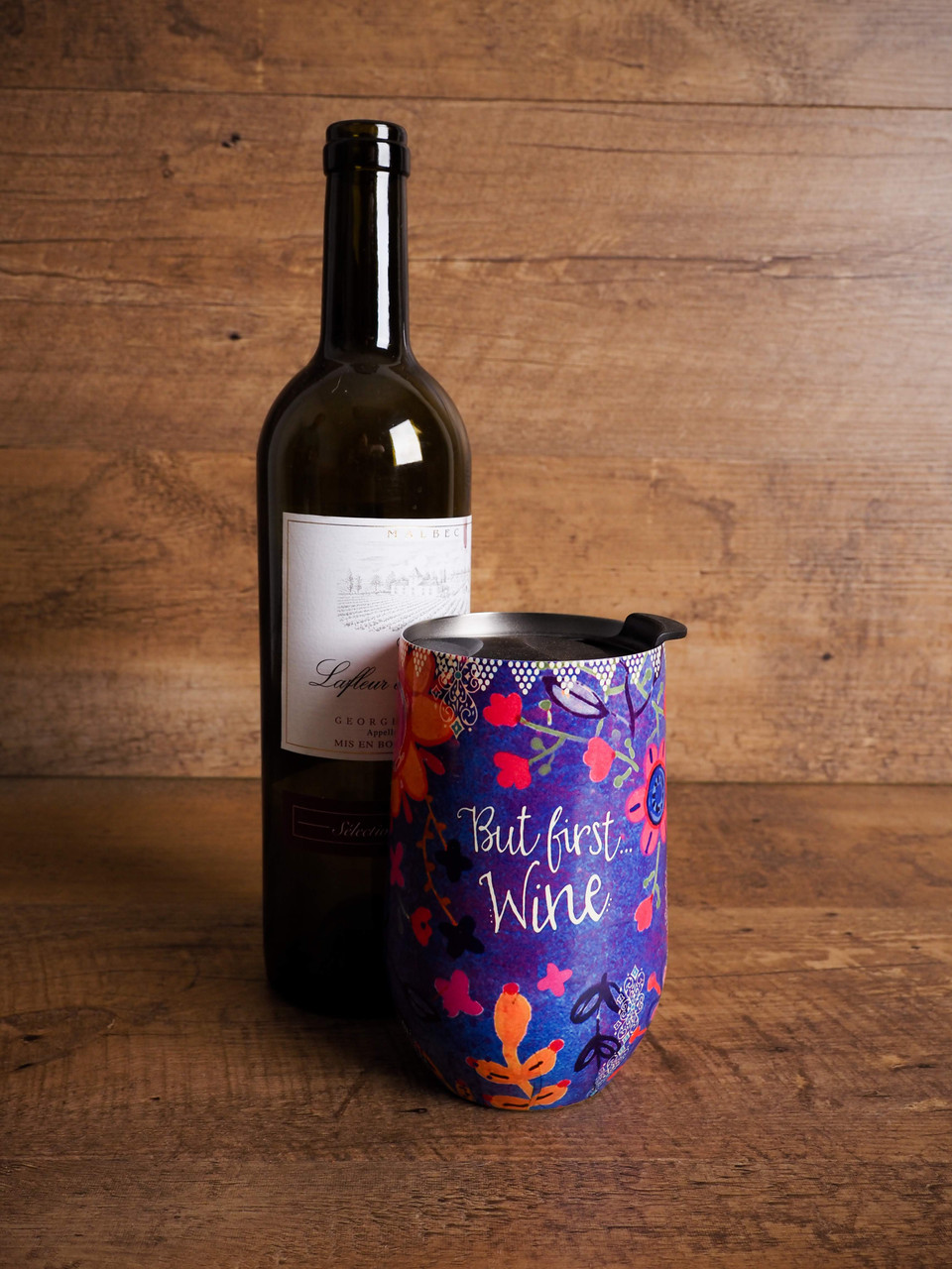 Wine Tumbler - But First Wine