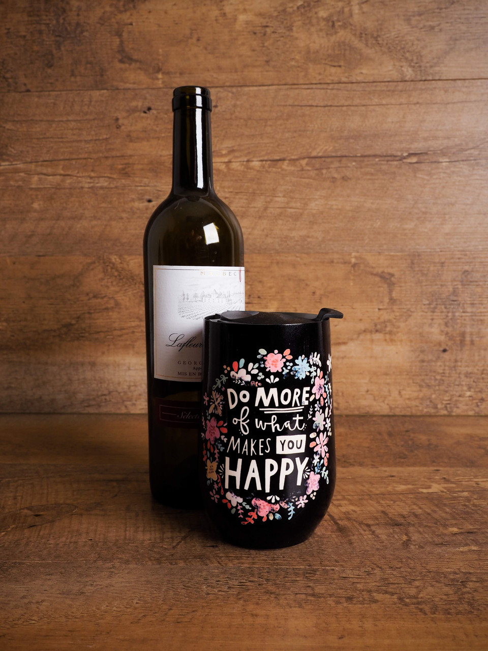Wine Tumbler - Do More Of What Makes You Happy