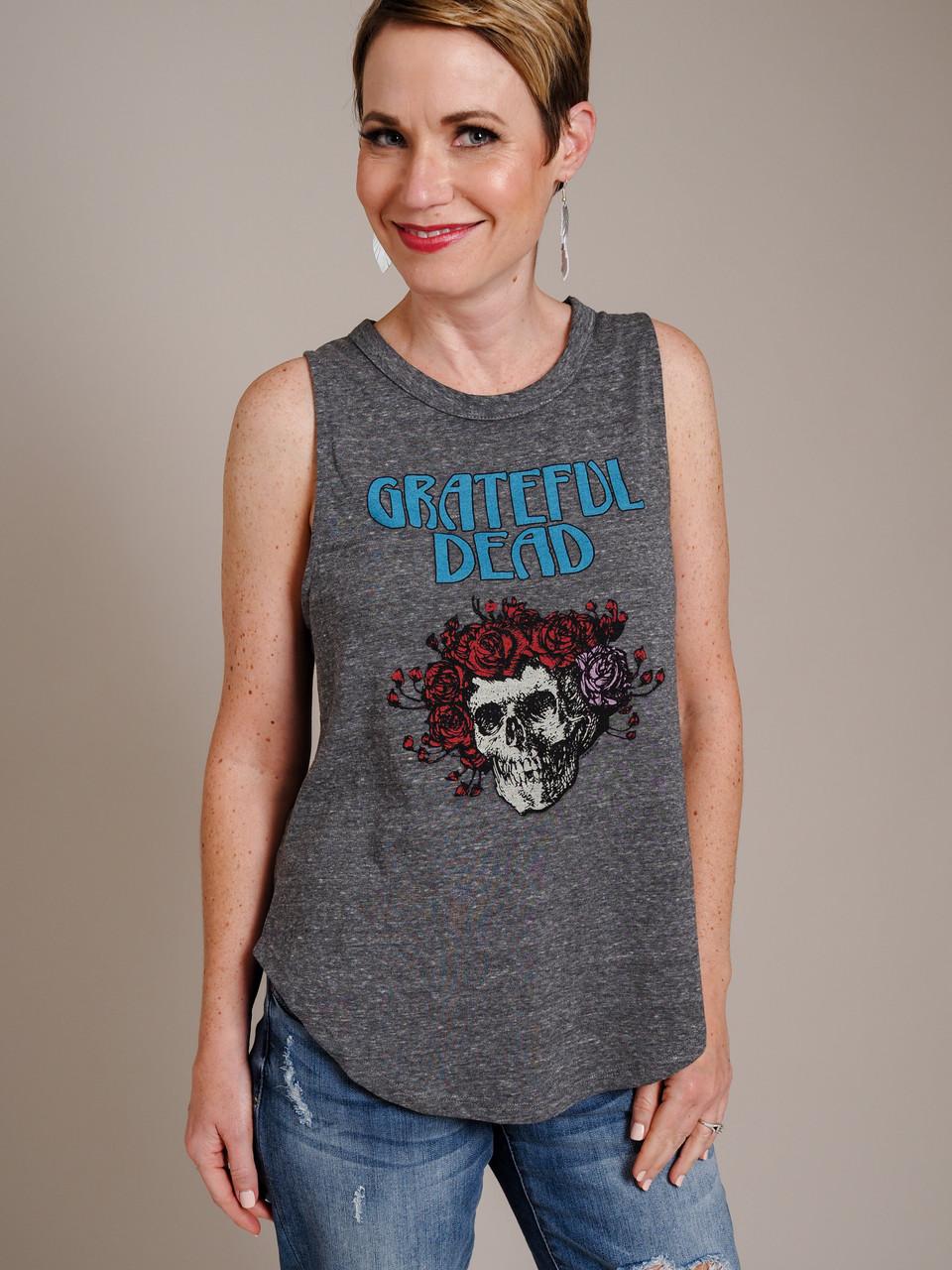 Grateful Dead Sleeveless Graphic Tank