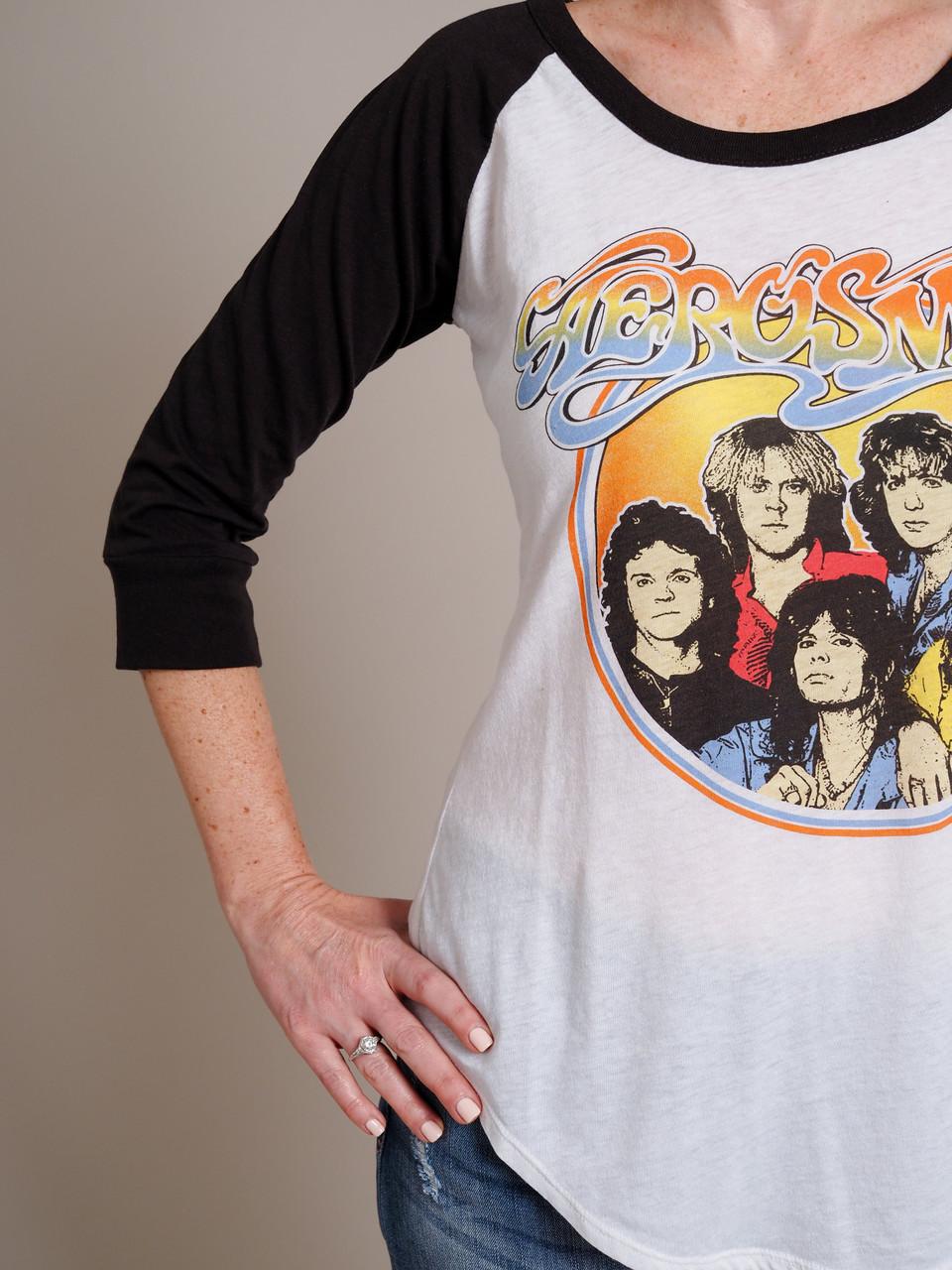 Aerosmith Classic Band Graphic Tee