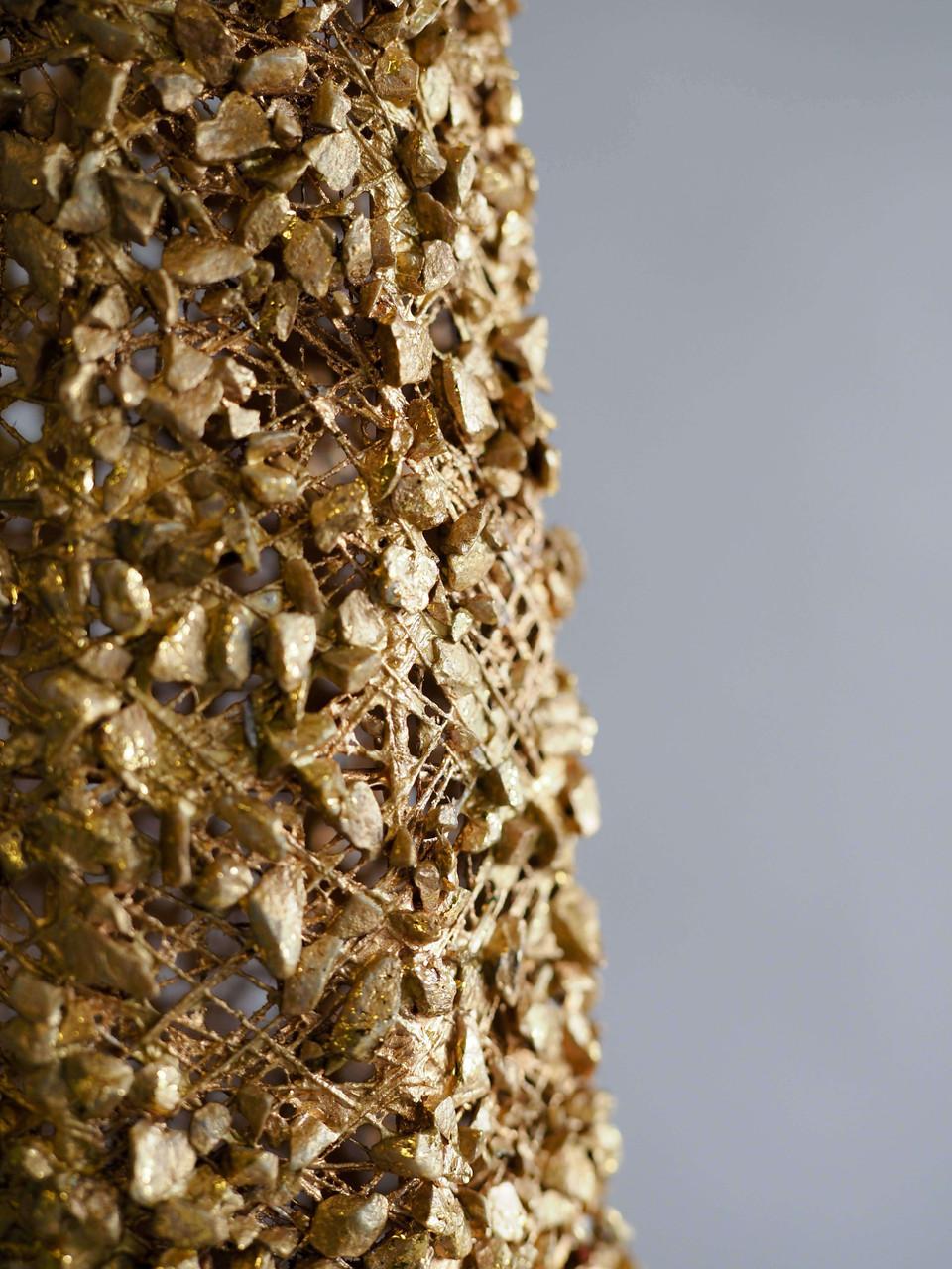 gold wire cone tree