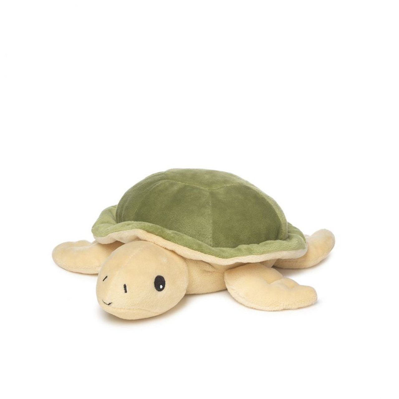 "All age groups can have hours of fun using their Warmies® Cozy Plush Junior Turtle, knowing that they can be warm all night long.   The 9"" Junior Turtle is fully microwavable yet entirely safe to hold tight after taking a bath, putting on PJs, and heading up the stairs to bed."