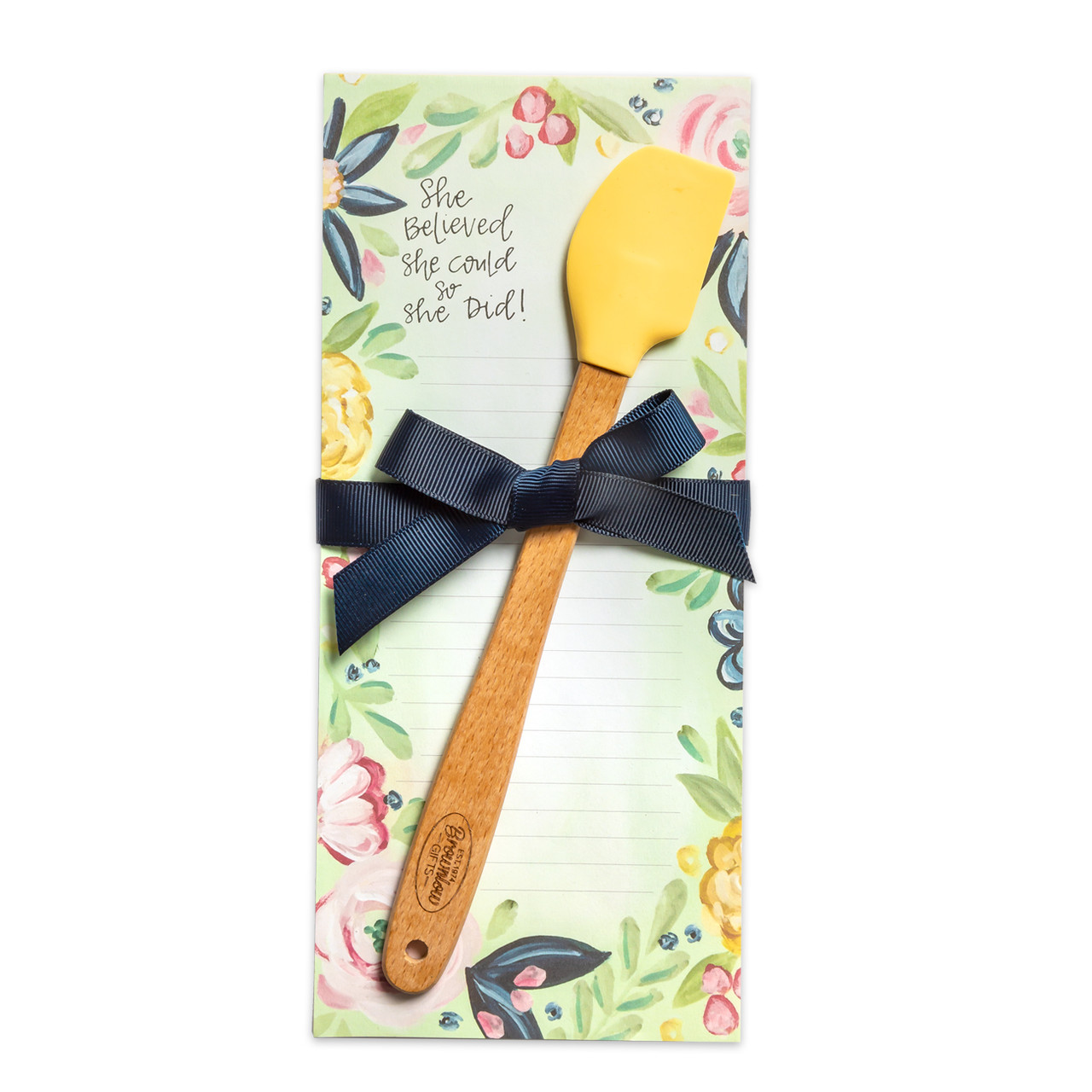 kitchen gift notepad mini spatula she believed she could so she did