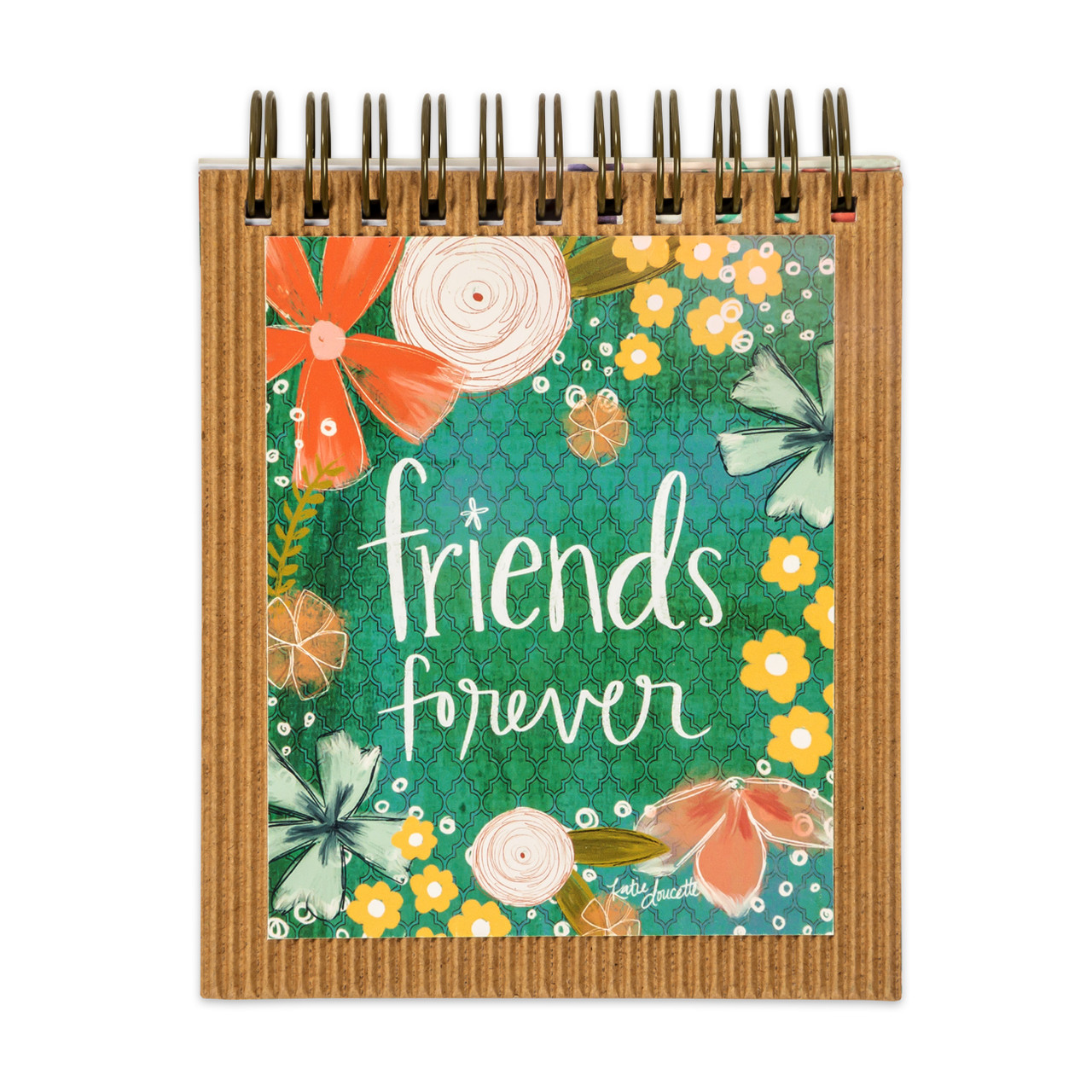 easelbook friends forever gift inspirational
