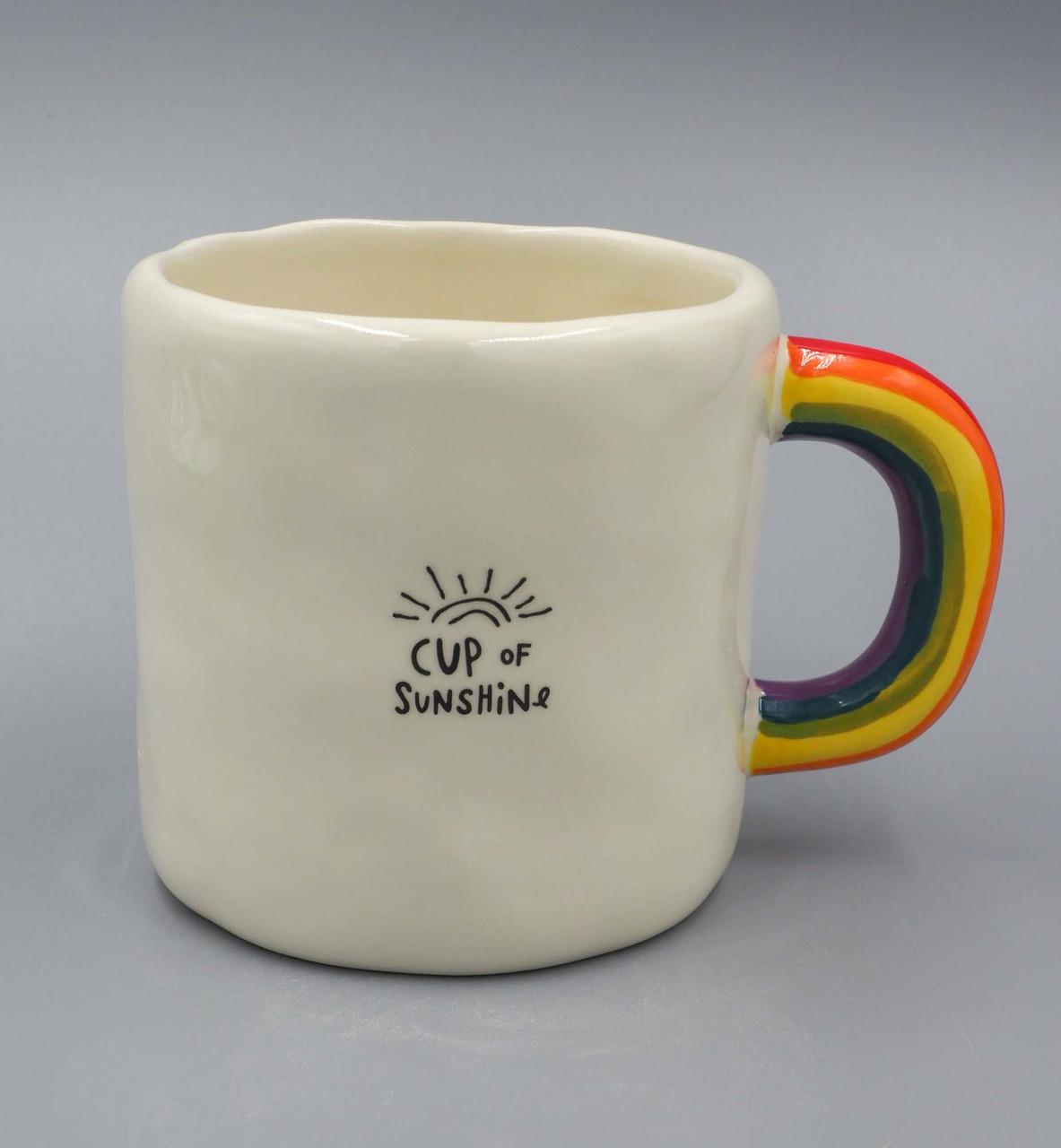 natural life rainbow mug cup of sunshine