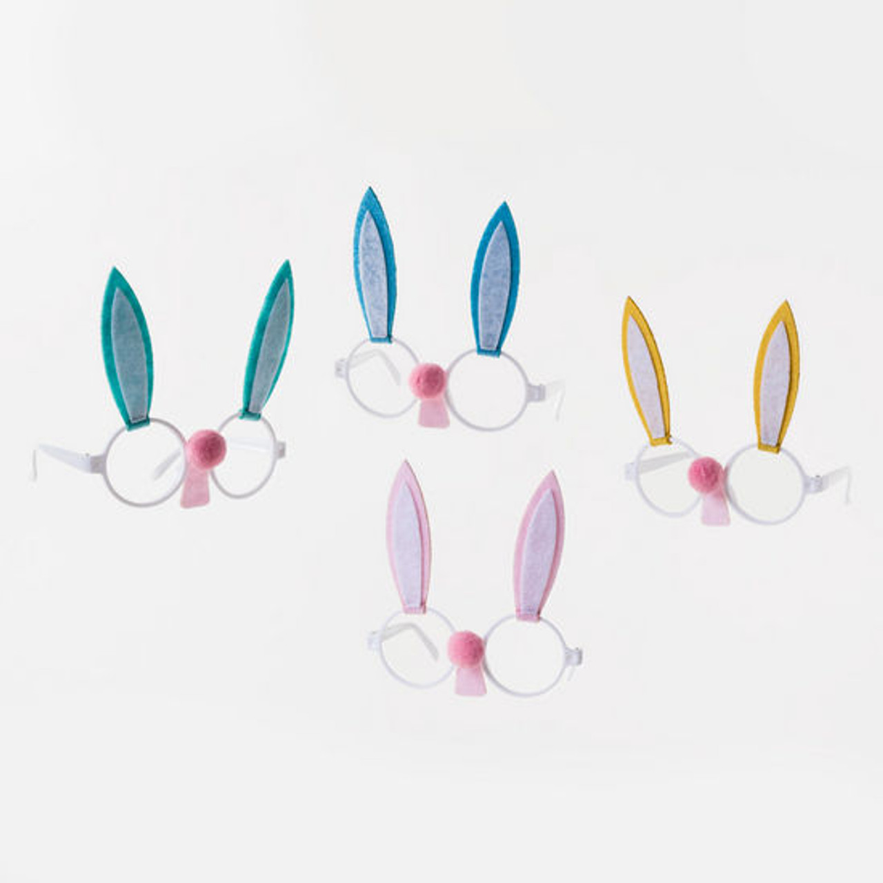 Celebrate Easter with these adorable bunny glasses with felt ears for all ages.