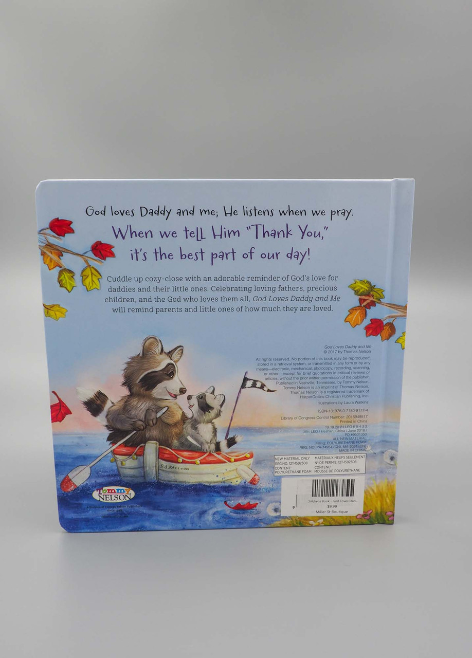 god loves daddy and me baby book childrens