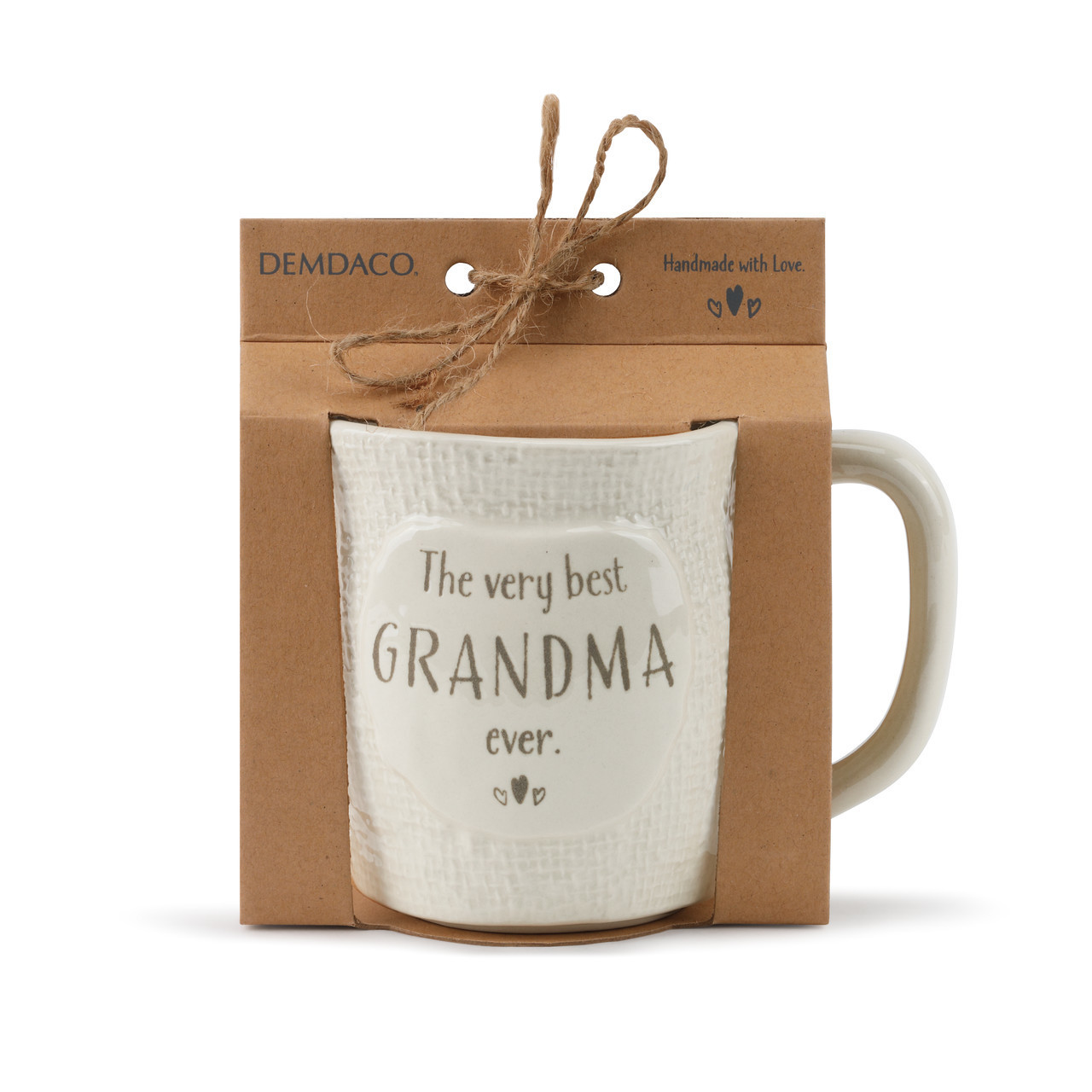 Inspire excitement and wonder with the perfectly playful Welcome to the World, The Very Best Mug. This unique ceramic mug features a classic textured cream appearance that is perfect for any new or existing dad, grandma. grandpa or aunt.