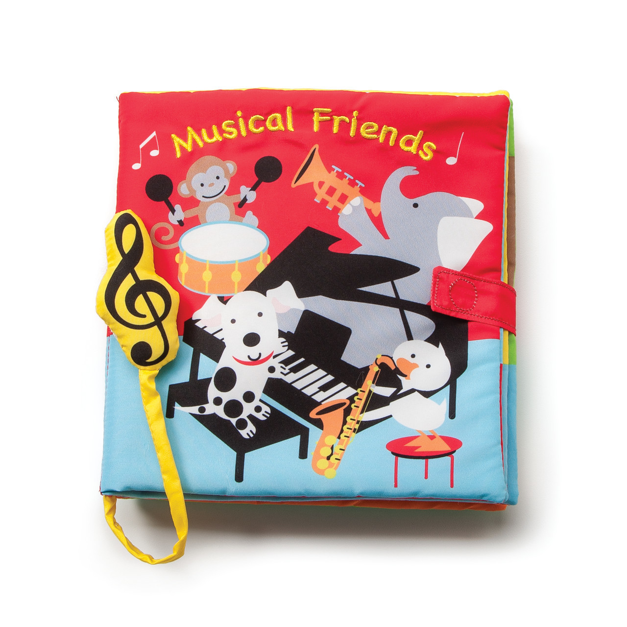 demdaco musical friends book with sound