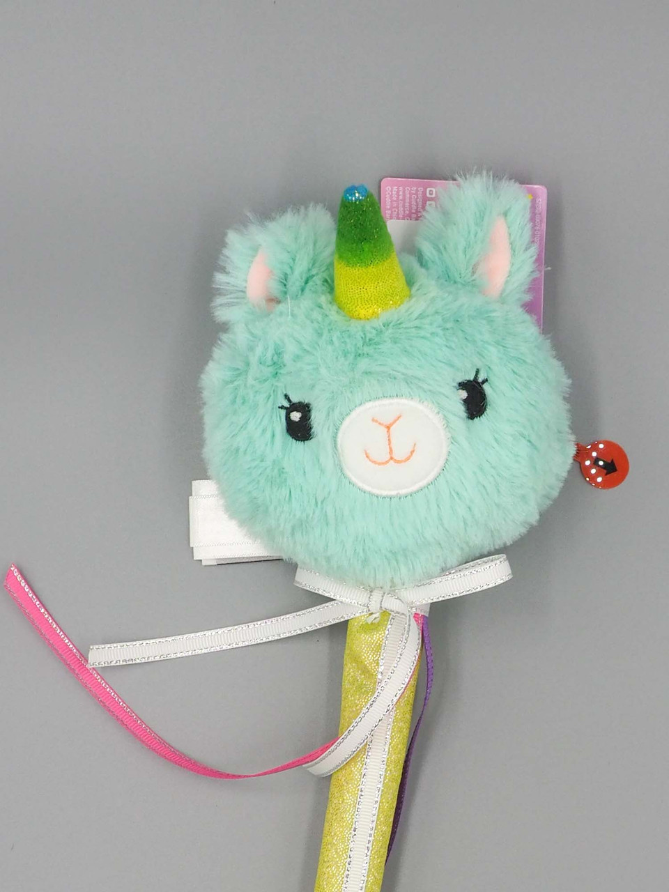 teal enchanted musical wand cuddle barn