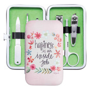 happiness is an inside job manicure set brownlow set
