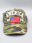 camo america baseball hat cap alabama girl