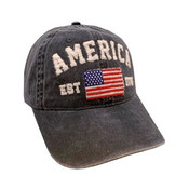 vintage grey america baseball cap hat alabama girl