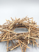12 inch twig stick wreath