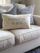 Namast'ay in bed lumbar pillow indaba trading