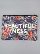 beautiful mess large zippered pouch studio oh