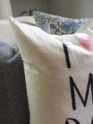 i love my dog pillow indaba