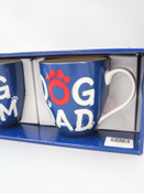 two mug gift set dog mom and dog dad