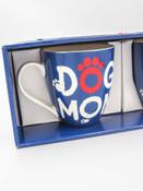 two mug gift set dog mom and dog dad