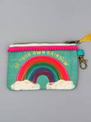 be your own rainbow ID Pouch natural life