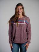 hoodie sweatshirt with drawstring neck
