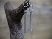 Metal Tassel Earring