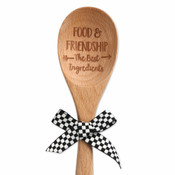 food and friendship the best ingredients sentiment spoon brownlow gifts