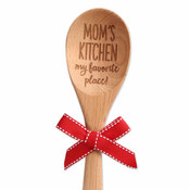 moms kitchen my favorite place to be wooden sentiment spoon