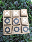 tic tac toe game wooden