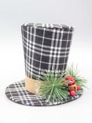 Black & White Top Hat