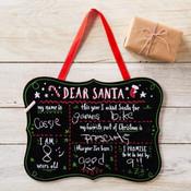 Dear Santa Chalkboard