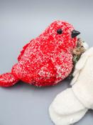 red felt bird creative coop