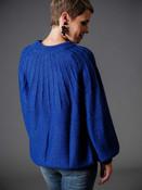 colbolt blue sweater umgee