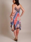 Floral Printed Asymmetrical  Dress