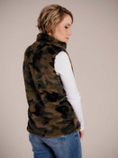 camouflage vest with pockets