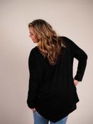 black asymmetrical top umgee plus clothing curvy