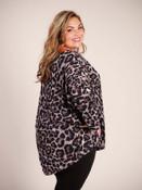 purple and black leopard print top plus clothing curvy umgee