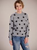 Dark Grey Knitted Sweater