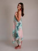 Mixed Print Boho Dress