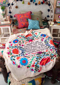 Angels Watch Over You Tapestry Blanket