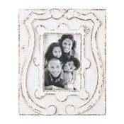 Antiqued Crest Frame 4x6