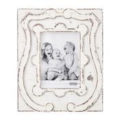 Antiqued Crest Frame 5x7