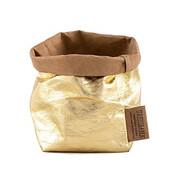 UASHMAMA piccolo organic paper bags metallo
