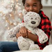 "Demdaco 16"" small giving bear plush"