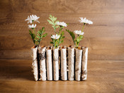 Birch Bark Multi Vase