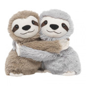 "Warmies® Hugs are the newest addition to the family of Warmies®. This super cute duo of heatable characters are gently scented with French lavender and provide the same warmth and aromatic comfort. Their arms wrap around each other and attach with Velcro making them perfect for mixing and matching to other Warmies® Hugs characters. You can also attach them anywhere and bring them with you on the go. Available in six adorable characters that are TWO cute not to LOVE. Warmies® are suitable for all ages.  Approximately 7"" long."