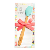 kitchen notepad gift mini spatula