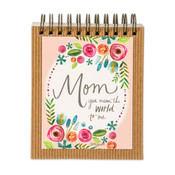 easelbook mom means the world gift inspirational