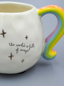 Natural life the world is full of magic pastel unicorn mug