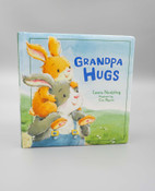 grandpa hugs baby book